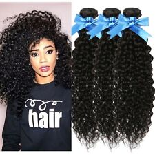 7A Unprocessed Brazilian Virgin Human Hair Bundle Weave Extension Curly 100/300g