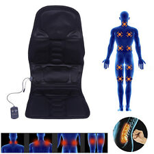 Massage Seat Cover Heated Heat Back Neck Cushion Car Hips Thighs Massager ST365