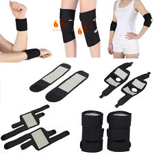 1 Pair Of Tourmaline Knee Elbow Wrist Support Brace Pad Health Care Protector