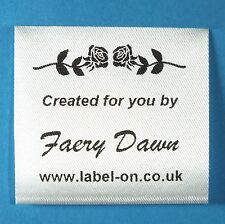SEW IN DRESSMAKING, NEEDLECRAFT TAPES, TAGS, GARMENT WASH CARE LABELS 01