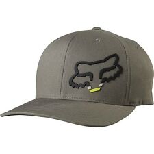 NEW Fox Racing MX Seca Motocross Cap Foxhead Moto Mens Army Grey Flexfit Hat
