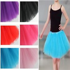 Girls Dancewear Multicolor Tulle Tutu Skirt Princess Dressup Ballet Dancewear us