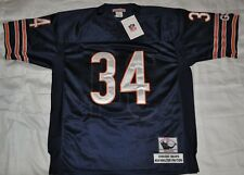 CHICAGO BEARS #34 WALTER PAYTON BLUE THROWBACK JERSEY AUTHENTIC SEWN NWT