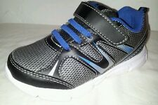 "STARTER - Toddler Boys Size ""10"" GRAY/Black/Blue Premium Athletic Running Shoes"