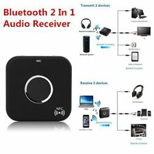 Promotion Bluetooth 2 In 1 Audio Receiver Transmitter 3.5mm Stereo Port LOT DE