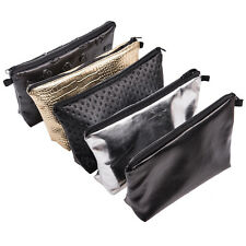 Party Hand Bag Cosmetic Makeup Bag PU Leather Travel Business Storage Case Pouch