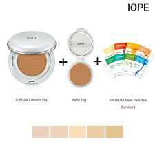New IOPE Air Cushion Matt Long Wear SPF50 + Refill 15g + Aritaum Mask Pack Korea