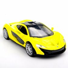 Collectible Car Toys 1:32 Yellow McLaren P1 Alloy Diecast Model Vehicles With Li