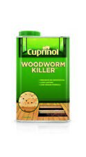 Cuprinol Woodworm Killer Low Odour Effective Protection in 1 L and 500 ml