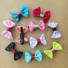 20PCS/LOT Handmade Pet Dog cat Accessories Grooming Hair Bows Dogs hair clip