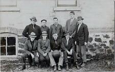 REAL PICTURE POSTCARD~HIXTON WISCONSIN BASKETBALL TEAM~EARLY 1900'S~UNUSED