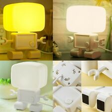 LED Rechargeable Light Control Desk Reading Table Lamp Night Bedroom Light