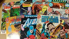 From Justice League JLA comic lot Sword of the Atom 1-4 +Special 1 2 3 VF+ b