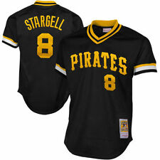 *NEW* Pittsburgh Pirates Mitchell Ness Adult #8 Stargell 1979 Jersey Black NWT