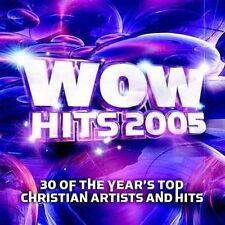 WOW Hits 2005 by Various Artists (CD, Oct-2004, 2 Discs, EMI Christian Music...