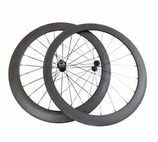 Just 1460g 50mm+60mm 700c Clincher Carbon Road Bike Bicycle Wheels Carbon Wheels
