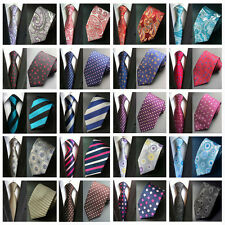 Fashion Men Flowers Paisley Striped Neck Tie 8cm Jacquard Necktie Tie HZ015