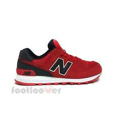 Shoes New Balance ML574CND Classics Traditionnels Man Sneakers Casual Red Black