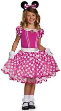 Minnie Mouse Pink Tutu Prestige Disney Fancy Dress Up Halloween Child Costume