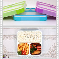 Compartment Bento Reusable Food Storage Containers with Lids Box Lunch Box