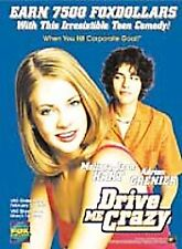 Drive Me Crazy (DVD, 1999) - NEW17
