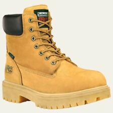 "Timberland Pro Boots Mens Direct Attach 6"" Soft Toe Waterproof & Insulated Wheat"