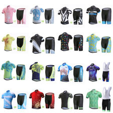Mens Cycling Jerseys Kit Summer Breathable Bike Short Sleeve Cycling Jersey Set