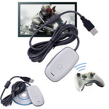 PC Wireless Gaming USB Game Receiver Adapter For Xbox360 Xbox 360 Controller QW