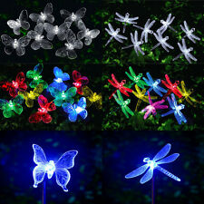 Solar String Fairy Lights White MultiColour & Color Changing Fairy Lights Garden