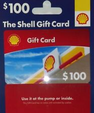 Brand new - Shell Gas Gift Card Value at $100