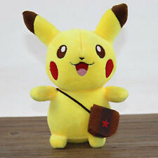 Cute Pikachu Figure Pokemon Soft Stuffed Plush Doll Kids Children Baby Toys Gift