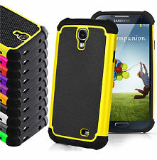 Shock Proof Rugged Armor Heavy Duty Hybrid Hard Stand Cover For Samsung Case