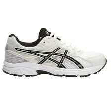 Asics Gel-Contend-3 BOY'S RUNNING SHOES, WHITE/BLACK/SILVER - Size US 5, 6 Or 7