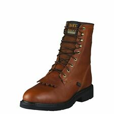 "Ariat 10002435 Cascade 8"" Safety Toe EH Rated Oil Resistant Western Roper Boots"