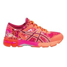 Asics Gel Noosa Tri-11 GIRL'S RUNNING SHOES, ORANGE/PINK ­- Size US 5, 6 Or 7