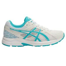 Asics Gel Contend-3 WOMEN'S RUNNING SHOES, WHITE/BLUE - Size US 9.5, 10 Or 11