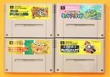 MARIO WORLD KARBY KART YOSSY Nintendo Super Famicom SNES FREE Shipping USED #6