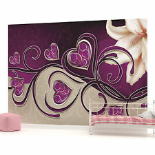 Art Abstract Flowers Floral PHOTO WALLPAPER WALL MURAL ROOM DECOR 703VEVE