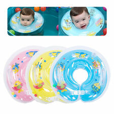 Baby Swimming Neck Float Infant Bath Ring Adjustable Safety Aids For 0-18 Month