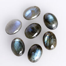 11X9MM Oval Shape, Genuine Labradorite Calibrated Cabochons AG-209