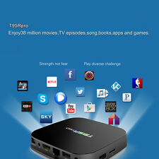 T95R Pro Android 6.0 TV Box Octa Core 16.1 3GB DDR3+32GB WiFi HD Media Player