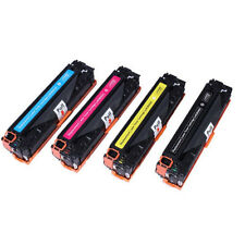 3x Any Toner Cartridge For CB540A CB541A CB542A CB543A HP LaserJet CP1215 CP1515