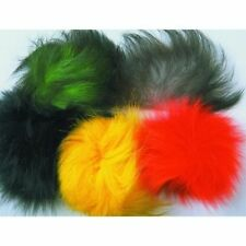 Veniard Dyed Arctic Fox tail standard and 3x long fly tying