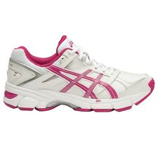 Asics Gel 190TR WOMEN'S CROSS TRAINING SHOES, WHITE/PINK - Size US 9.5, 10 Or 11
