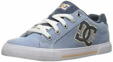 DC Chelsea TX SE Navy White Canvas Womens Skate Trainers