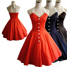 VINTAGE 1950'S ROCKABILLY SWING RETRO EVENING DRESSES BALL GOWN VINTAGE CLOTHING