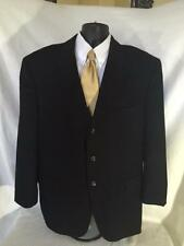 Mint Loro Piana 100% Cashmere Black Blazer Jacket Sport Coat 48R
