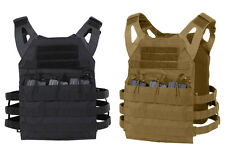 Lightweight Plate Carrier Military MOLLE Tactical Assault Vest Rothco