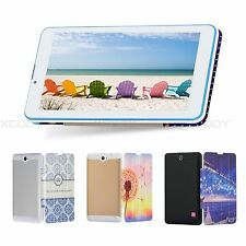 7'' Inch Google Android 4.4 Dual Core Tablet PC 8GB Bluetooth 2SIM 3G Phablet