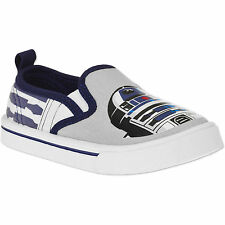 Star Wars Toddler Boys' Canvas Slip-on Sneaker Shoe Sizes 7, 8 or 10 NWT